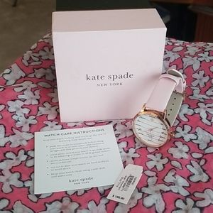 NWT NEVER WORN Kate Spade NY Leather Ladies Watch!